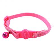 Petmate 反光斑點貓項圈 (S碼 粉紅色)