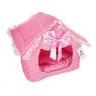 Kojima 粉色浪漫寵物窩 (公主房子)