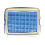 IRIS 平板式有格網狗廁所 TFT-650 (L碼 粉藍色)