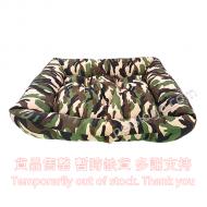 Kojima 長方形寵物窩 (綠色迷彩)